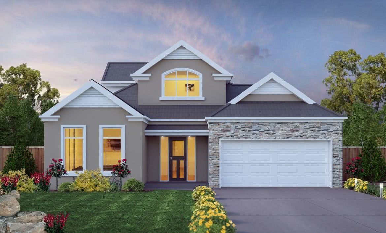 Casas estilo americano 65 projetos e fotos apaixonantes for Estilos de fachadas de casas pequenas