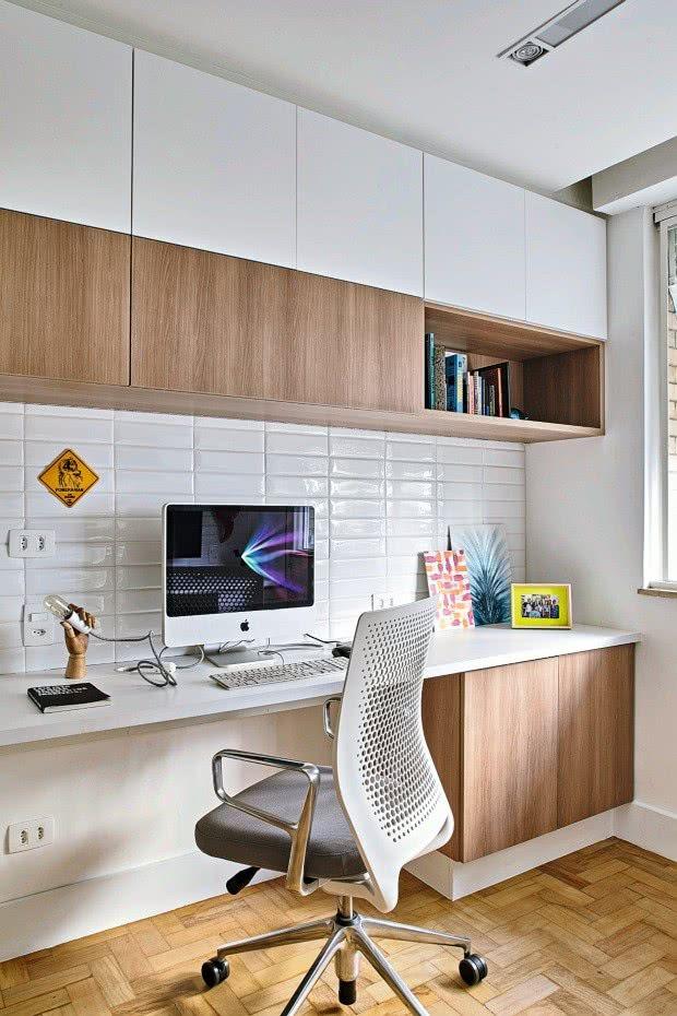 Não importa o tamanho do espaço de trabalho, a cadeira deve ser confortável e fazer seu estilo!