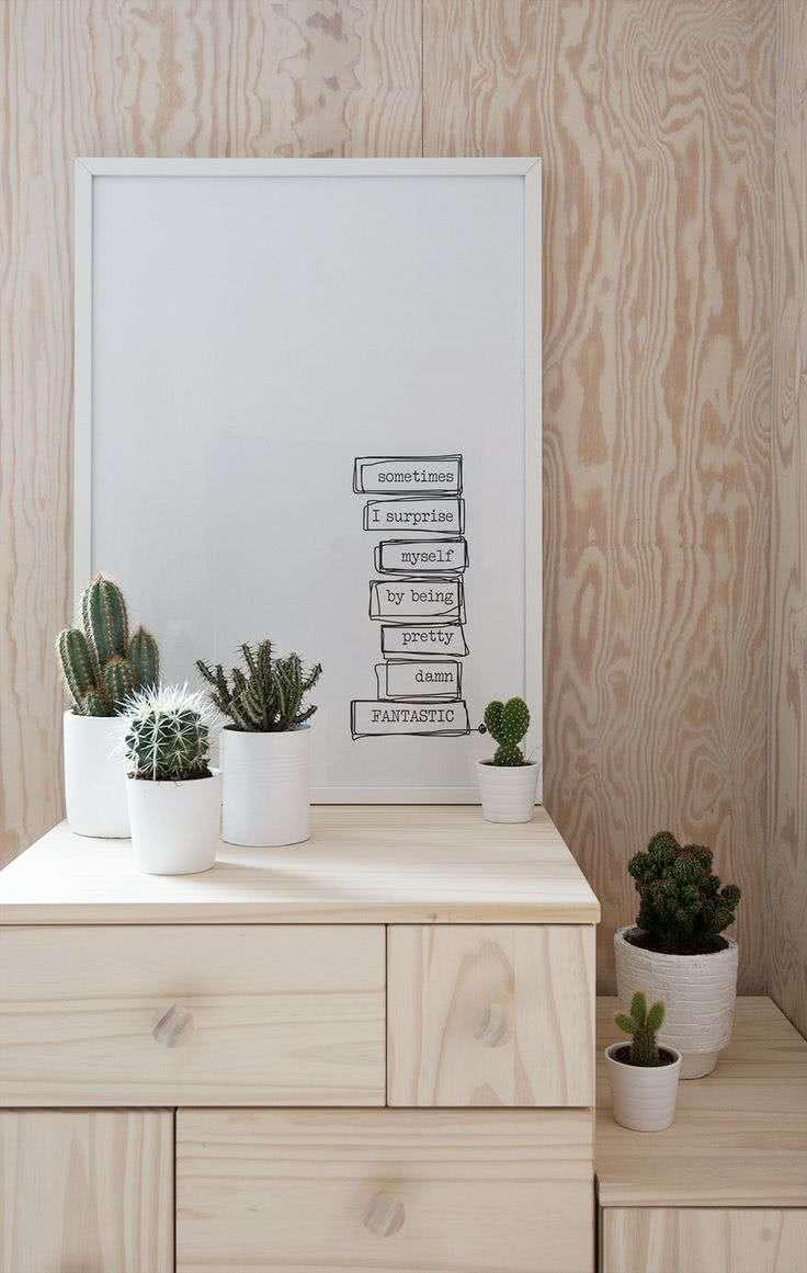Os pequenos vasos são versáteis e podem ser posicionados em qualquer cantinho da casa.