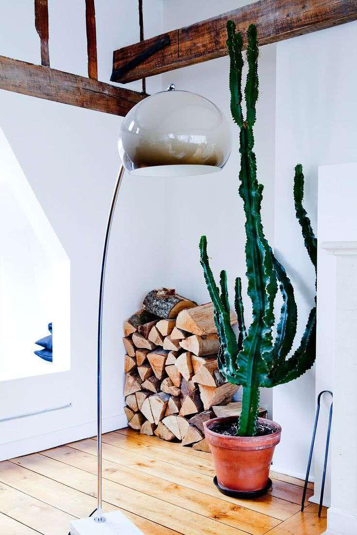 Ele também se encaixa perfeitamente em uma decoração rústica.