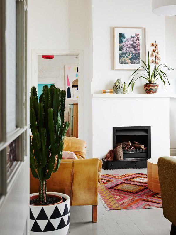 O vaso é uma peça importante para acompanhar na decoração.