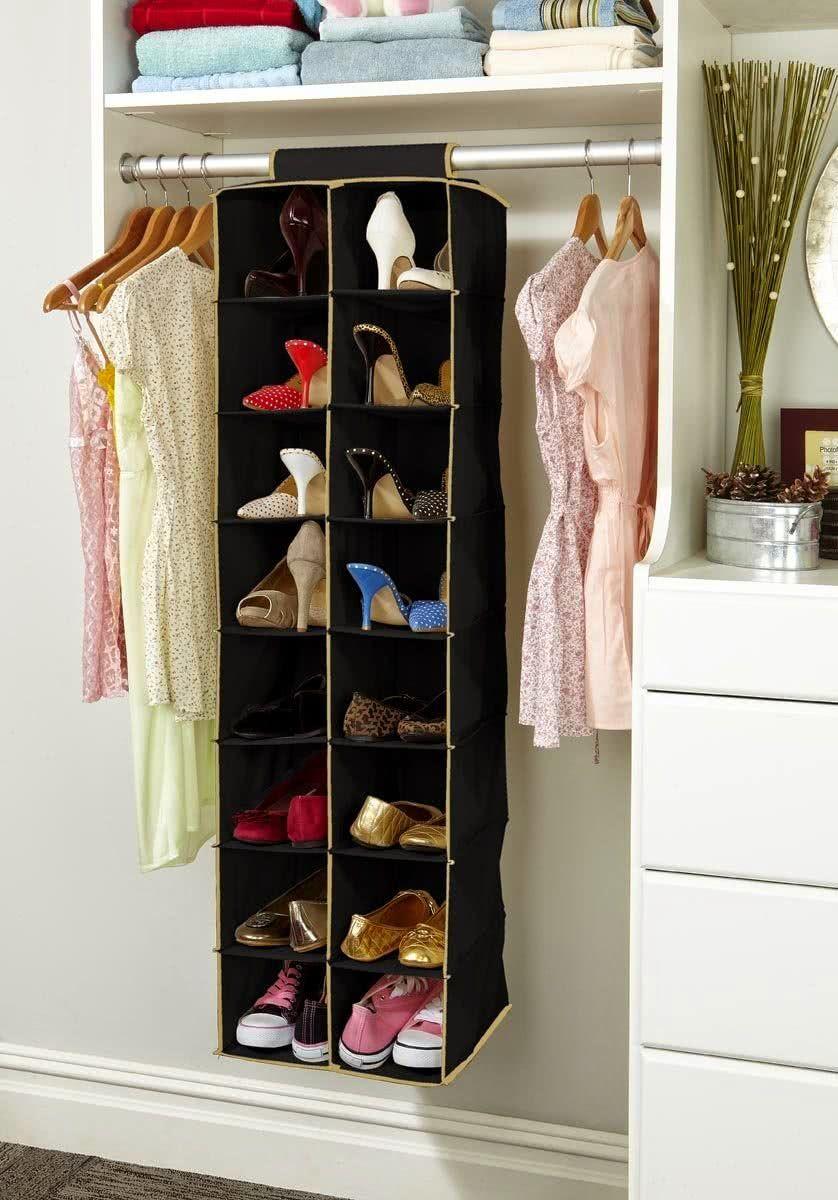 737f22e74 Como Organizar Sapatos: 60 Dicas e Ideias Práticas