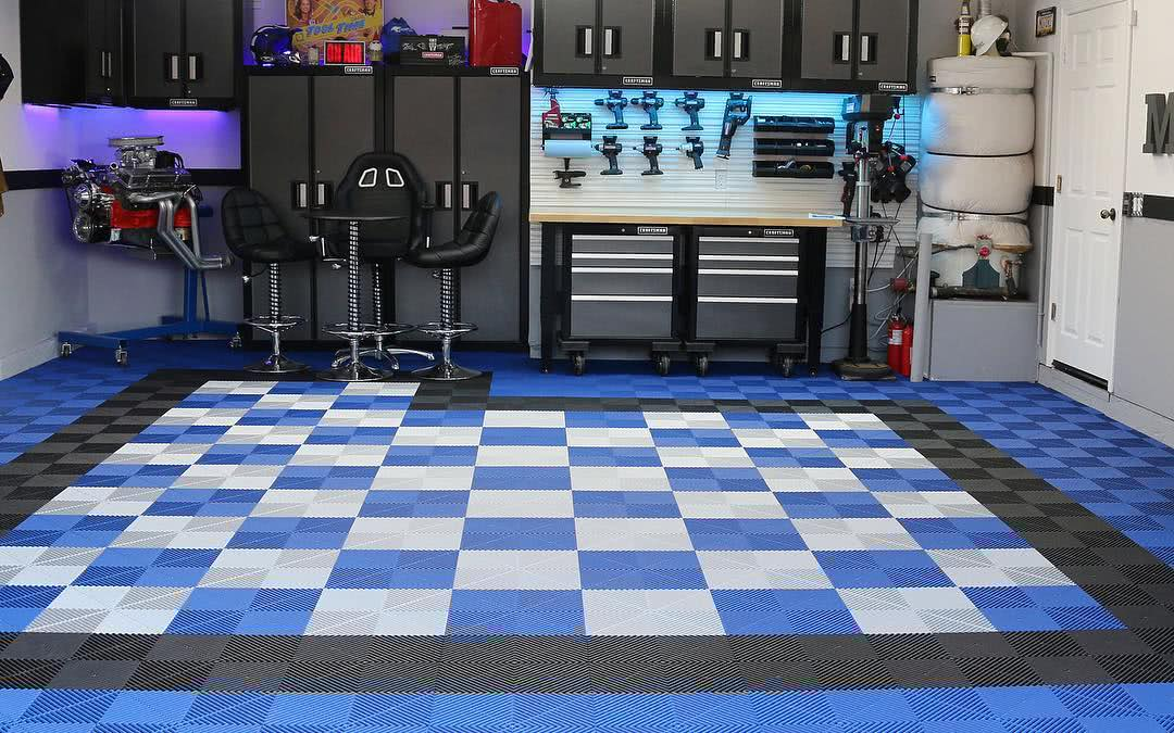 Personalize seu piso de garagem