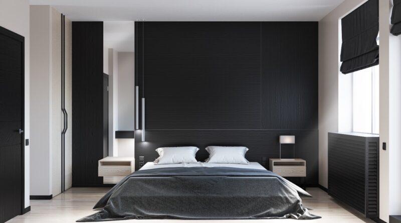 Quarto preto: 60 fotos e dicas de decoração com a cor