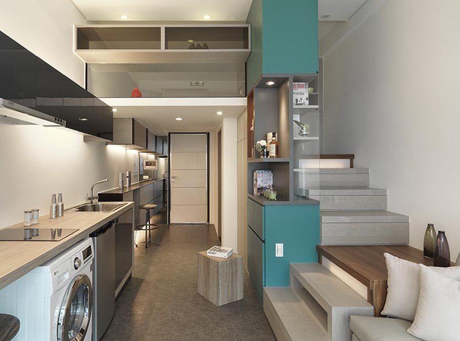Decora o de casas pequenas 62 dicas ideias e fotos de for Casas pequenas interiores