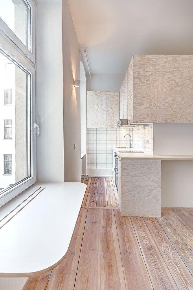 Cozinha pequena na decoração de casas pequenas