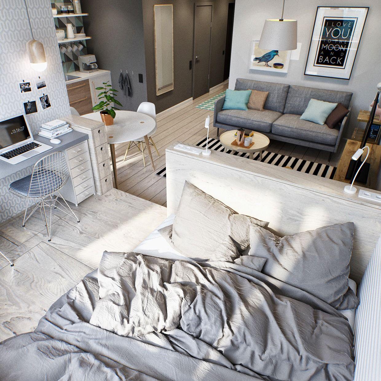 Desníveis de piso para decorar casas pequenas