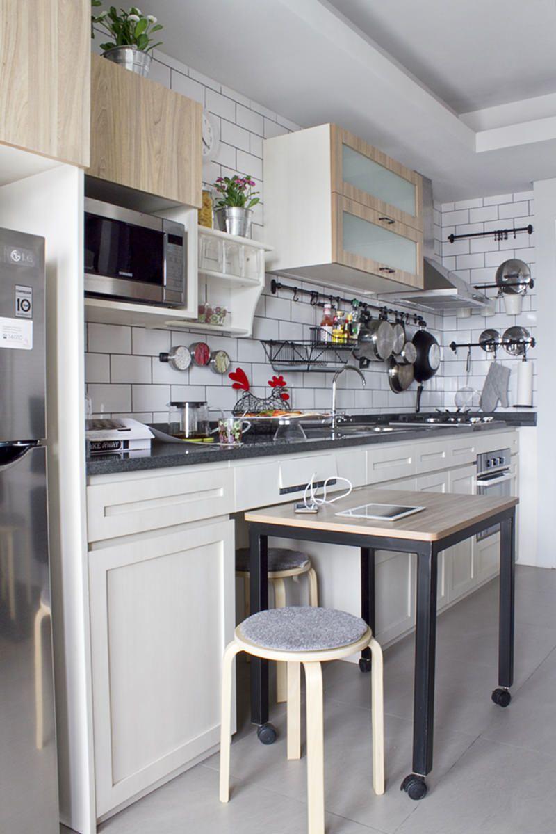 Funcionalidade e flexibilidade andam juntos em uma cozinha.