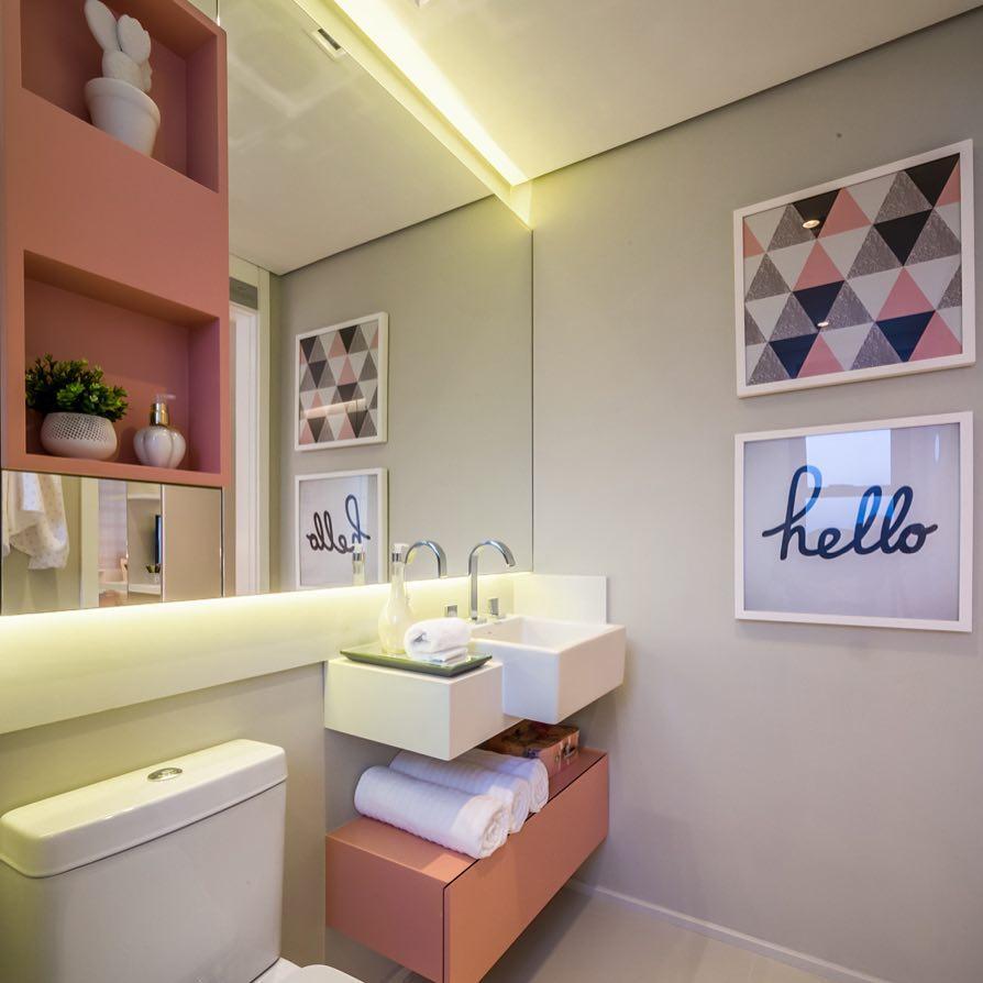 Banheiro para menina