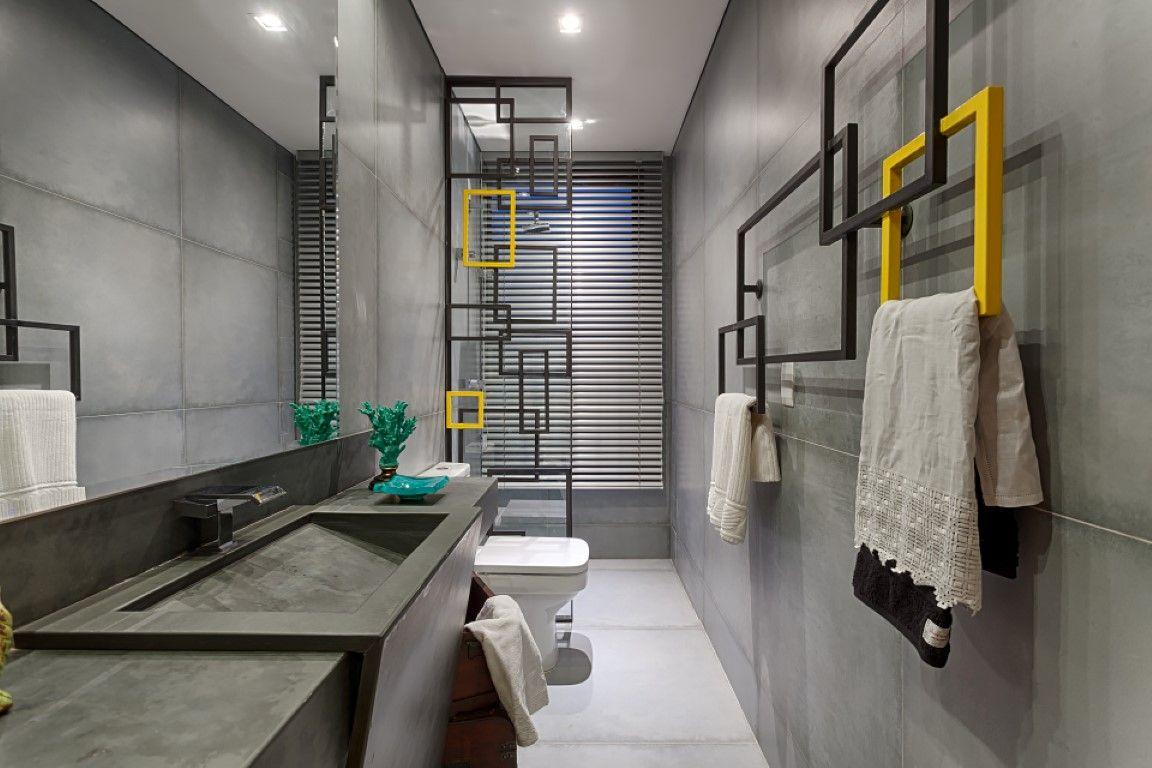 Banheiro com efeito lúdico