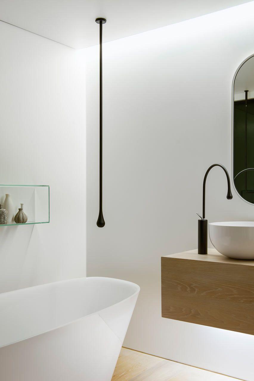 Design high low para banheiros decorados