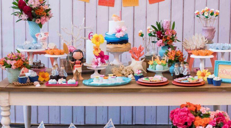 Festa Moana: 70 ideias de decoração e fotos do tema