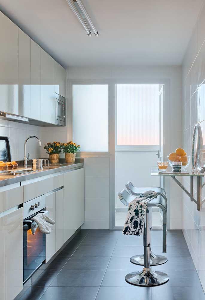 Combine a decoração de toda cozinha