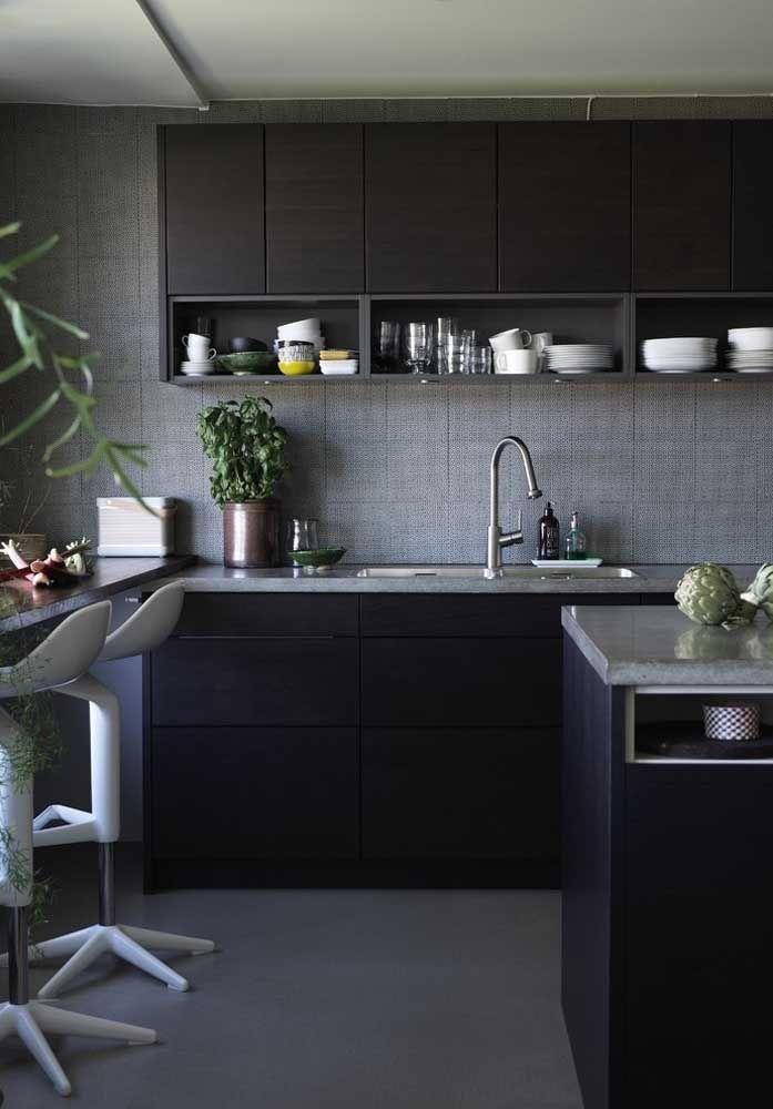 A cozinha merece uma decoração bem agradável para receber seus convidados