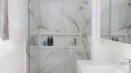 Revestimento para banheiro: tipos, modelos e fotos