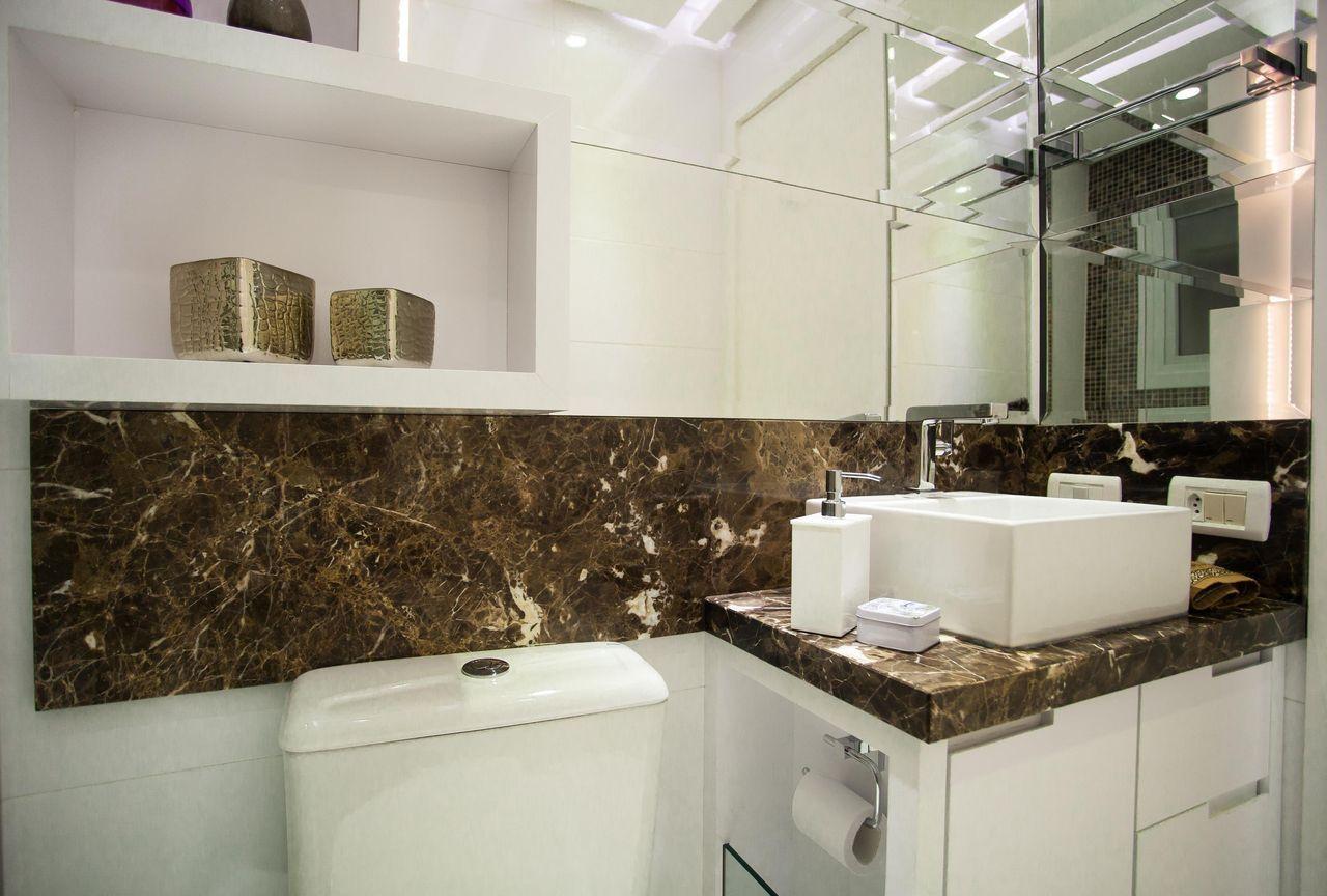 Revestimento para Banheiro Tipos, Modelos e Fotos! -> Cuba Para Banheiro Areia