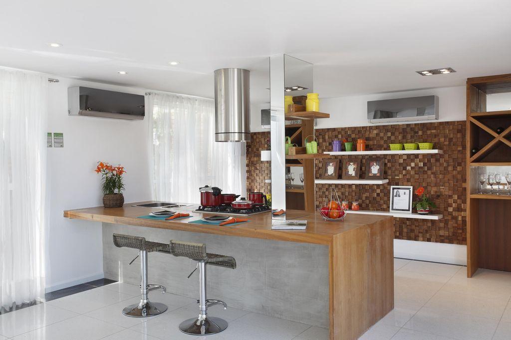 Bancada de cozinha dicas materiais e fotos for Cocinas modernas estilo americano