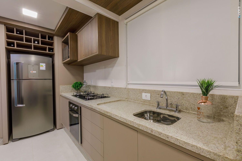 Bancada de cozinha dicas materiais e fotos - Fotos de granito ...