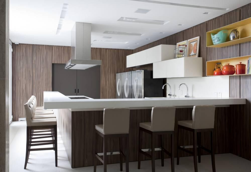 Bancada de cozinha dicas materiais e fotos for Banquetas altas modernas