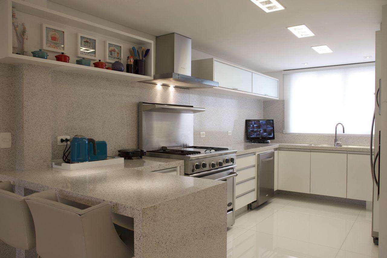 Bancada De Cozinha Dicas Materiais E Fotos