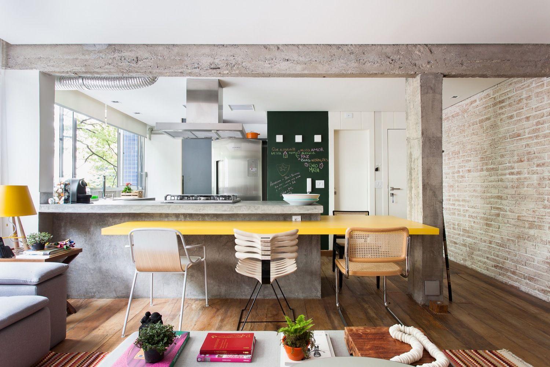 Casa decorada com estilo rústico