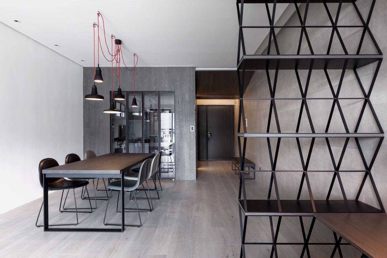 O estilo contemporâneo pede elementos metálicos e cores neutras