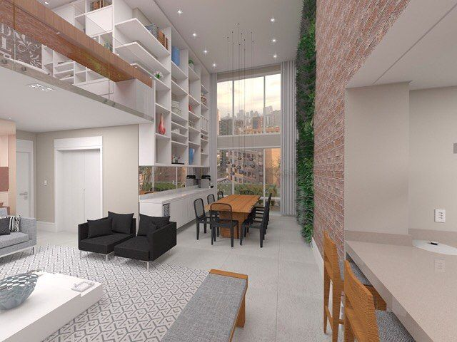 E pode até acompanhar ambientes internos de casas decoradas.