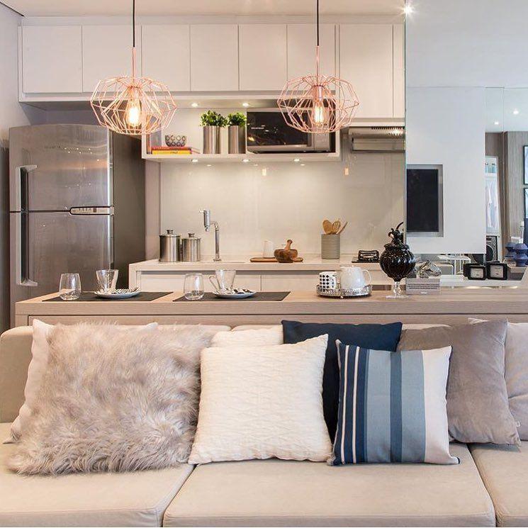 Cozinha gourmet para apartamento