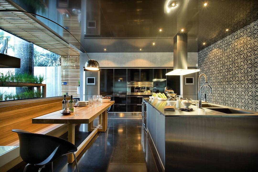 Azulejos na decoração da cozinha gourmet