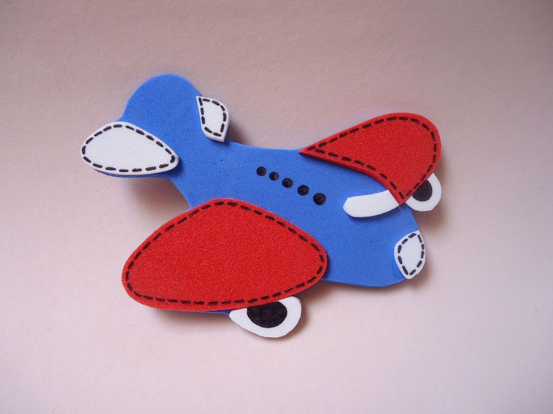 Moldes De Aviao Para Imprimir: Artesanato Em EVA: 80 Modelos, Moldes E Passo A Passo