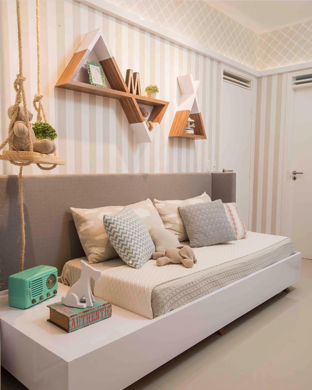 Ideias para quarto infantil em preto e branco - So Sweet