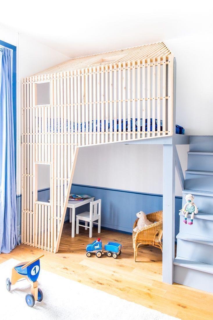 Quarto infantil 65 ideias de ambientes decorados com fotos - Fotos de lofts decorados ...