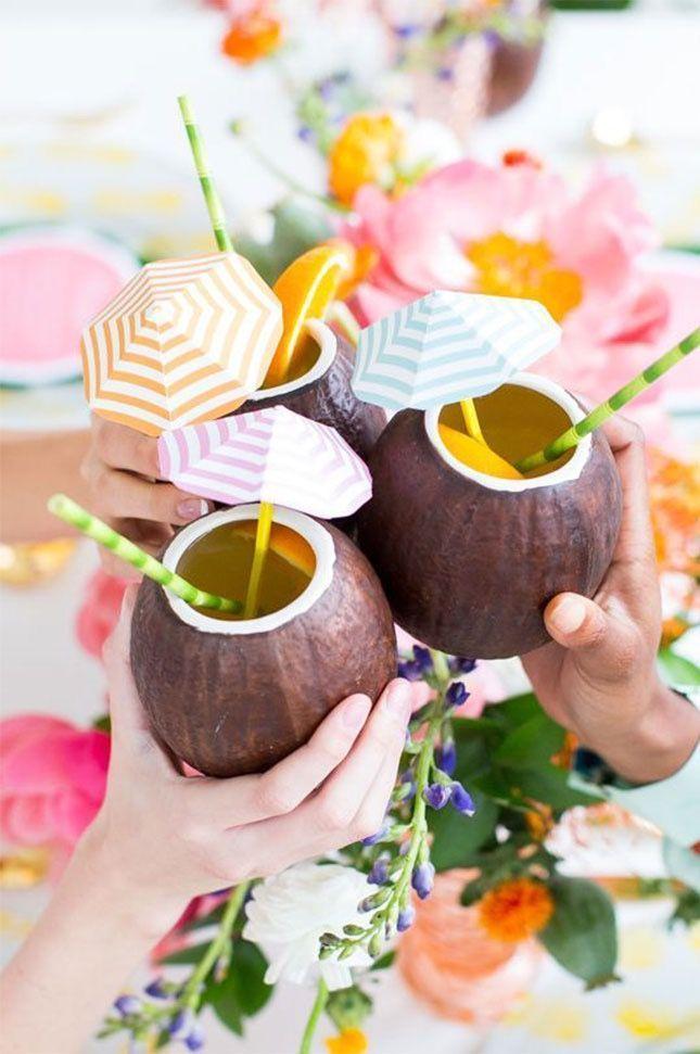 Festa tropical: 100 ideias de decoração e fotos do tema
