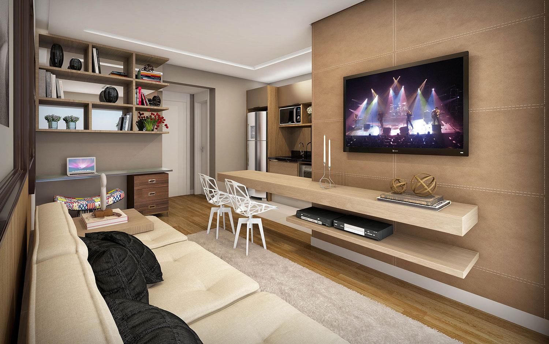 Sala Para Tv Moderna.Sala De Tv Moderna 60 Modelos Projetos E Fotos Para Decorar