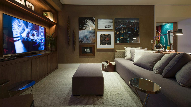 Sala De Tv Moderna E Aconchegante.Sala De Tv Moderna 60 Modelos Projetos E Fotos Para Decorar