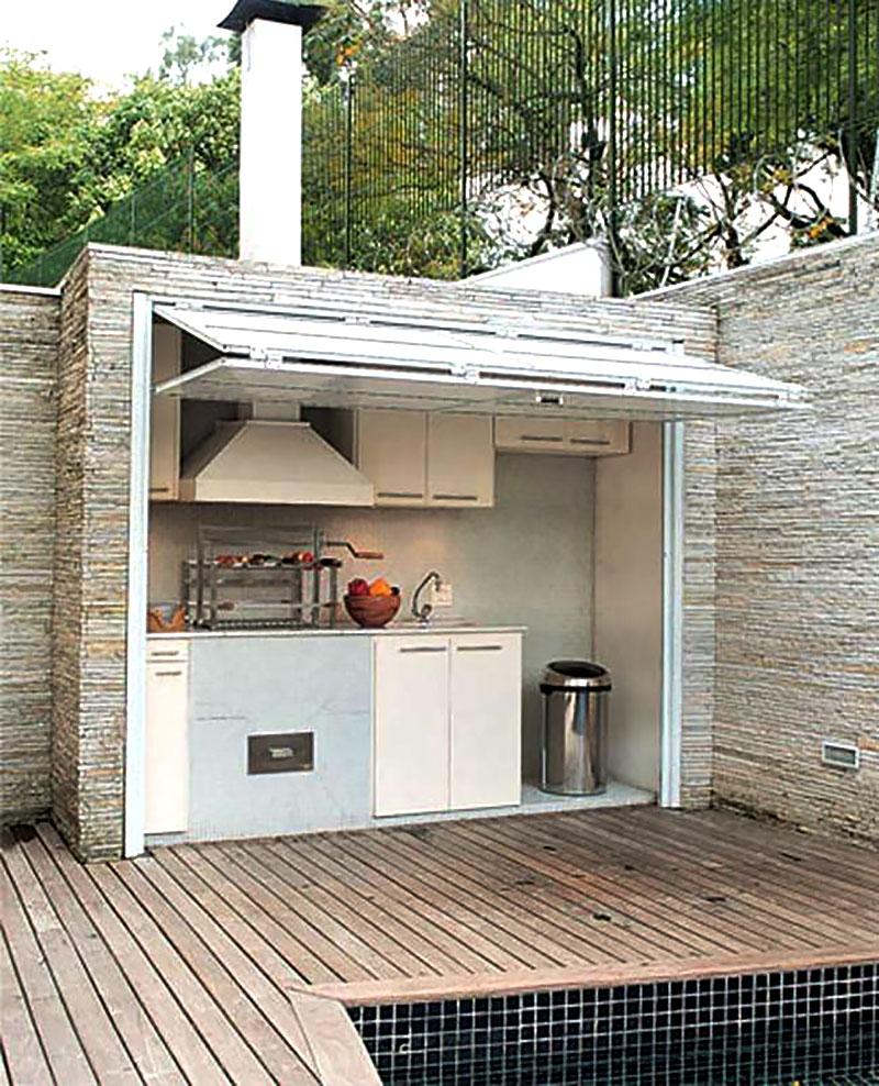 33 Ideias Para Transformar Sua Casa Normal Em: Área De Lazer Pequena: 60 Projetos, Modelos E Fotos