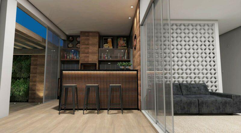 Área de lazer pequena: 60 projetos, modelos e fotos