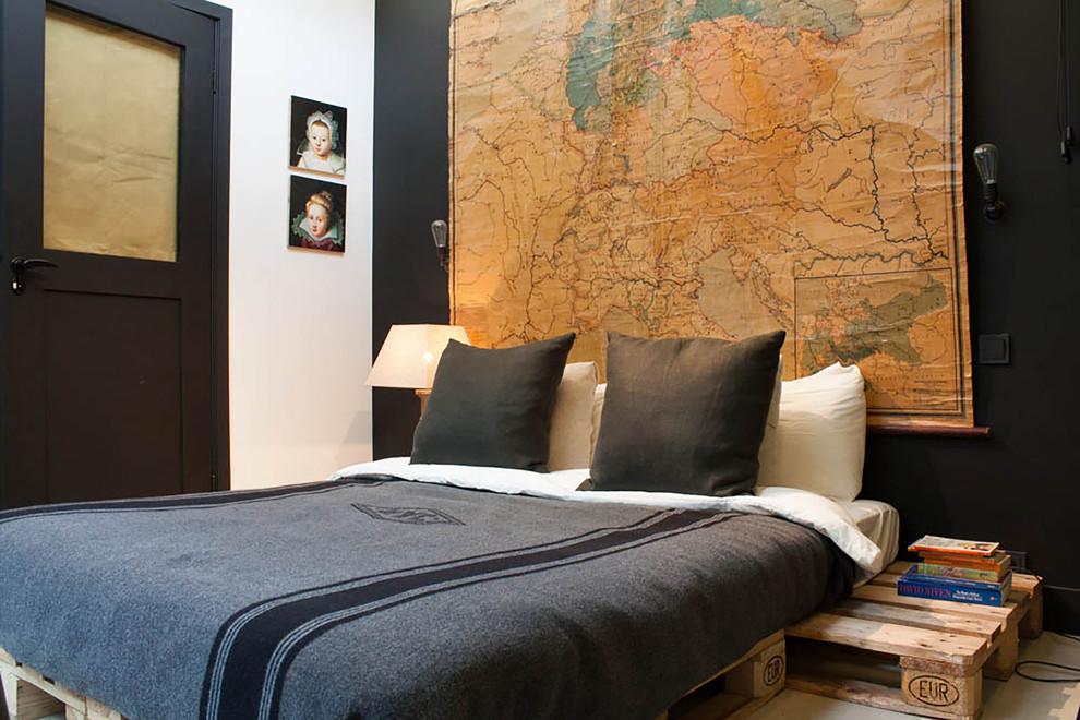 Faça uma cama no chão simples e barata utilizando paletes