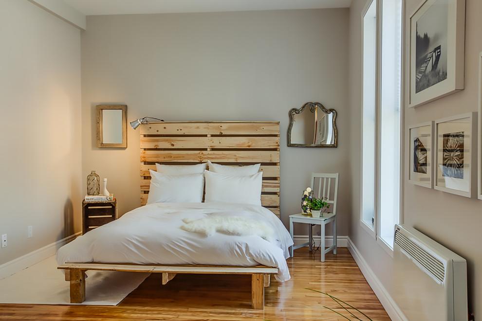 Projeto de cama com painel de pallet