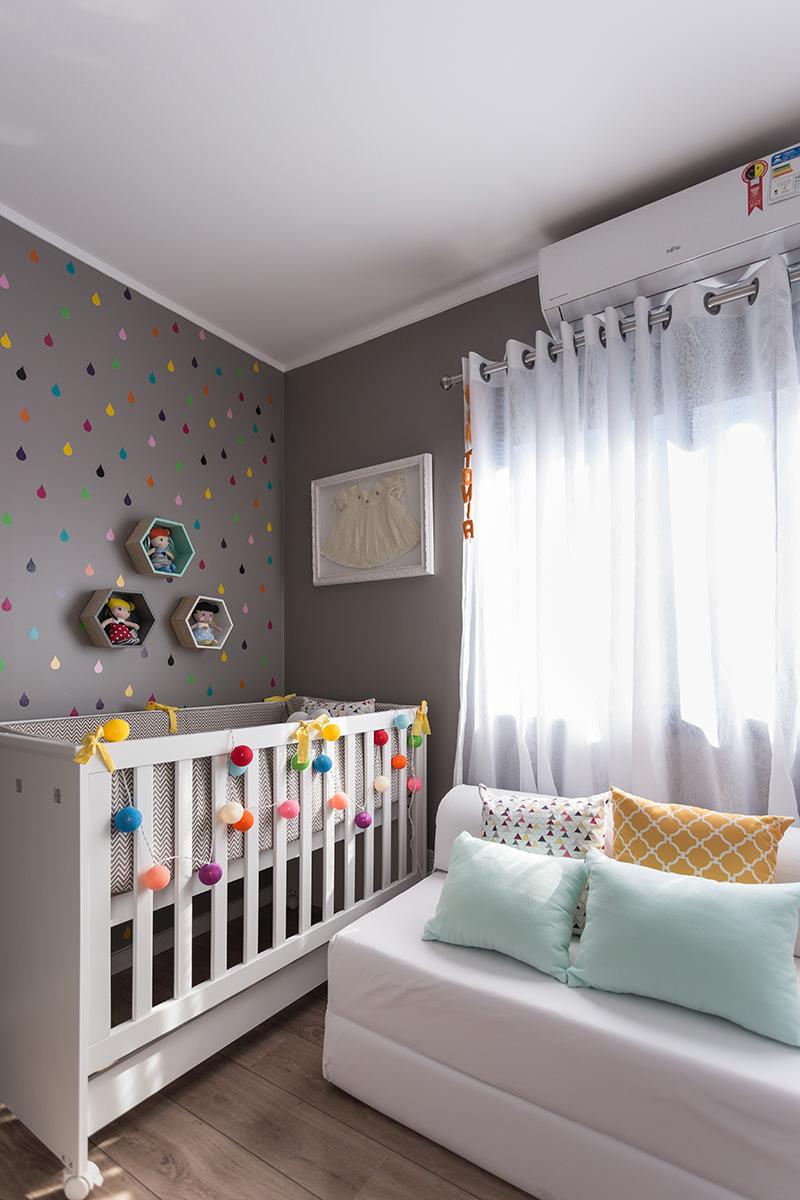 Decoraç u00e3o de Quarto de Beb u00ea 75 Ideias com Fotos e Projetos! -> Decoração De Quarto De Bebe Pequeno Masculino