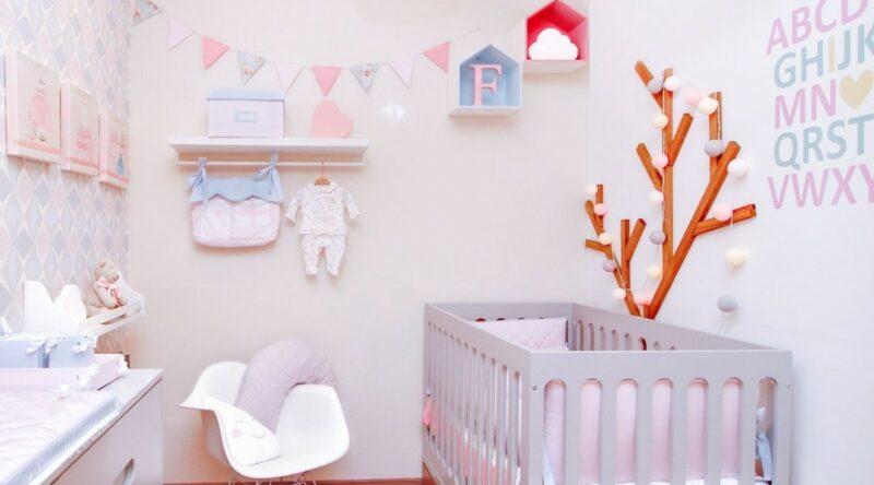 Decoração de quarto de bebê: 75 ideias com fotos e projetos