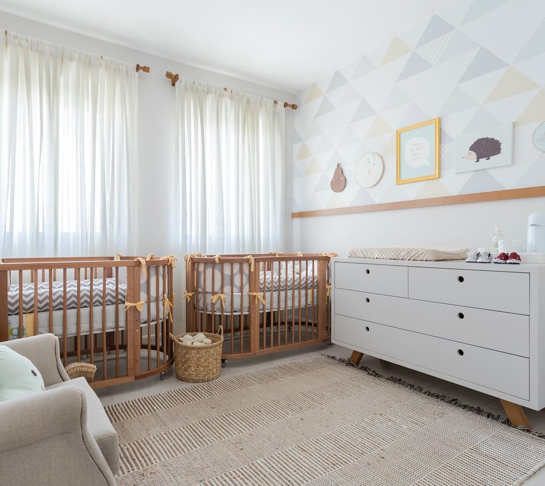 Decoraç u00e3o de Quarto de Beb u00ea 75 Ideias com Fotos e Projetos! -> Decoração De Quarto De Bebê Ovelhinhas