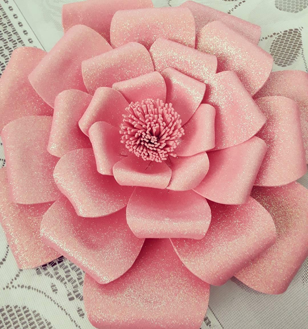 Flores De Papel Para Decorar Mural