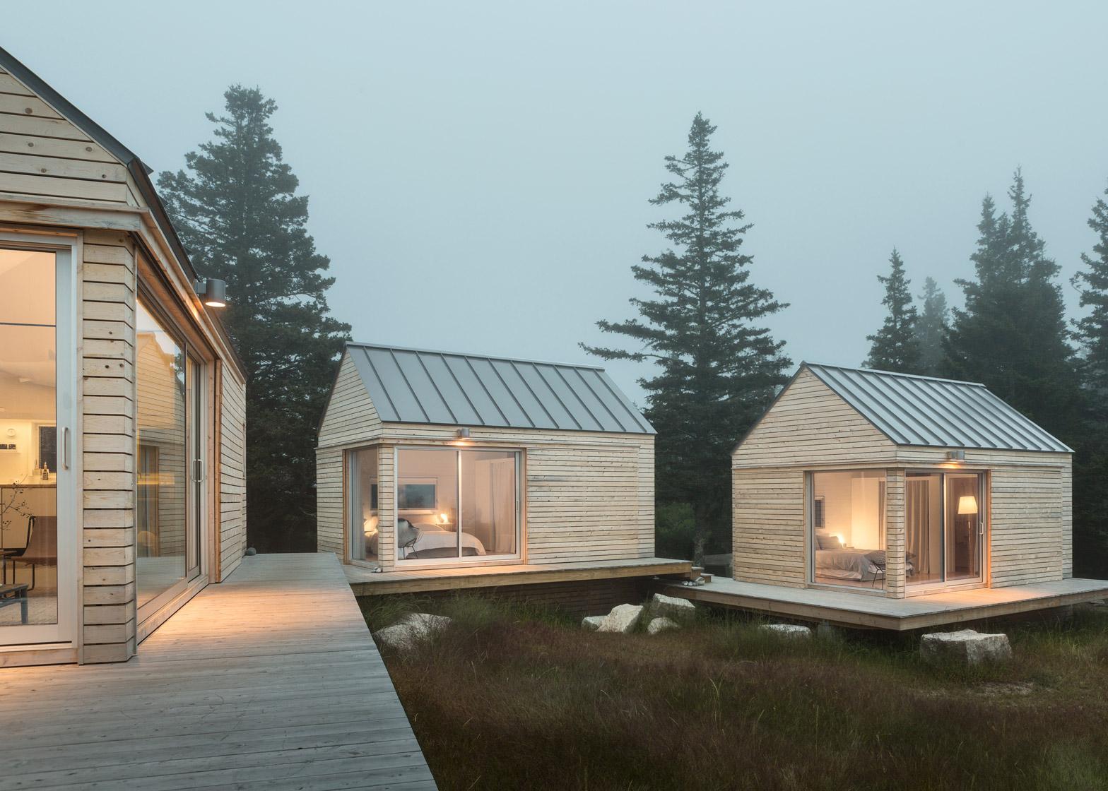 O formato simples pode receber um tratamento diferenciado na fachada.