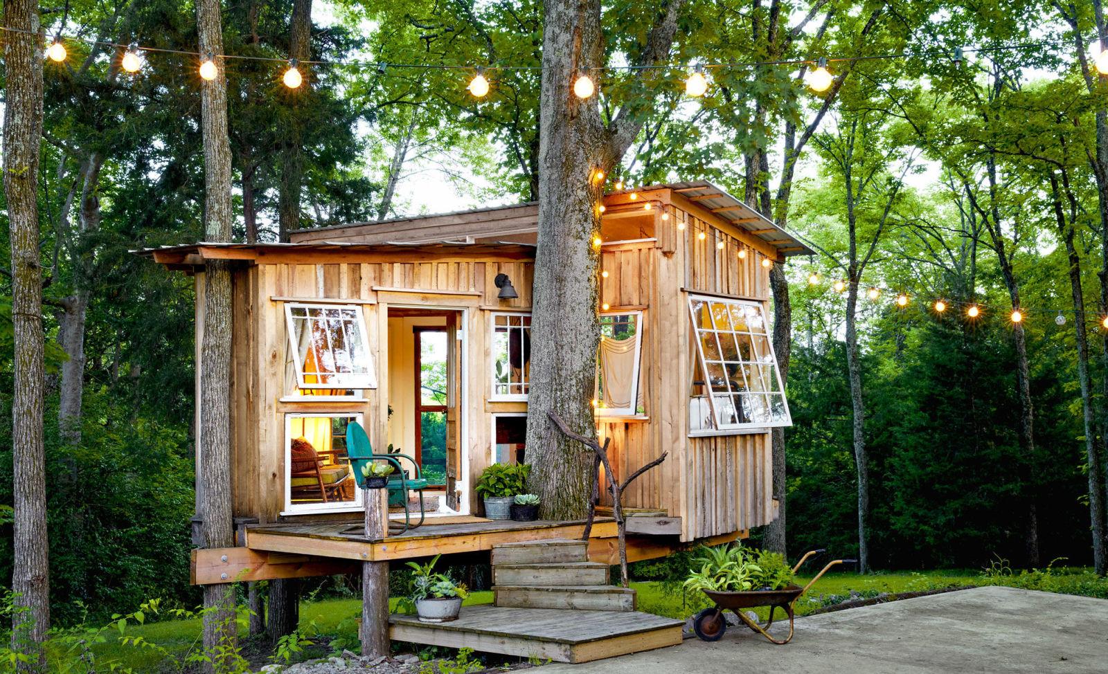 A casa de madeira possui um ótimo custo benefício!