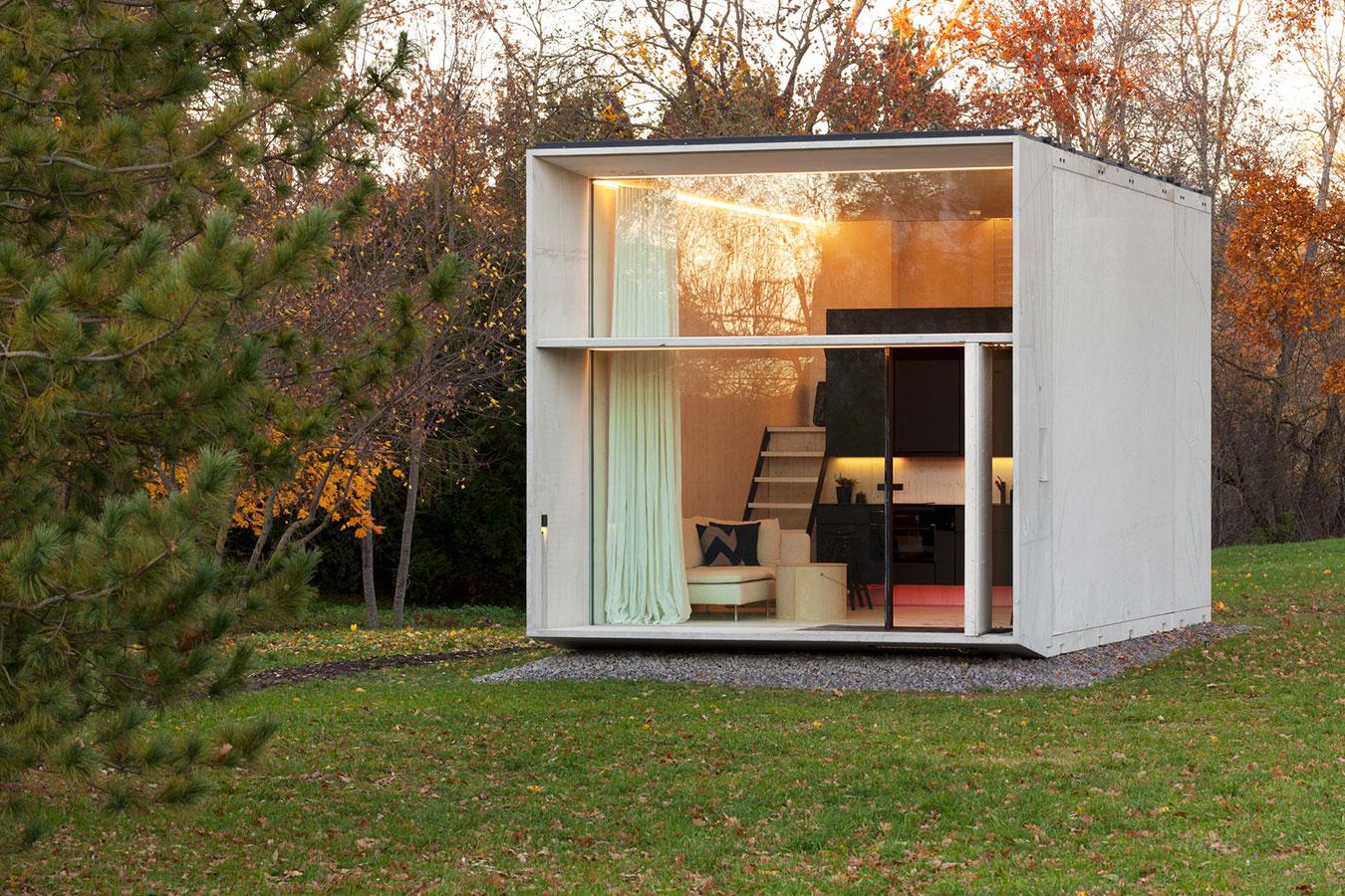Modelos de casas pequenas 60 fotos projetos e plantas - Escritorios para casas pequenas ...