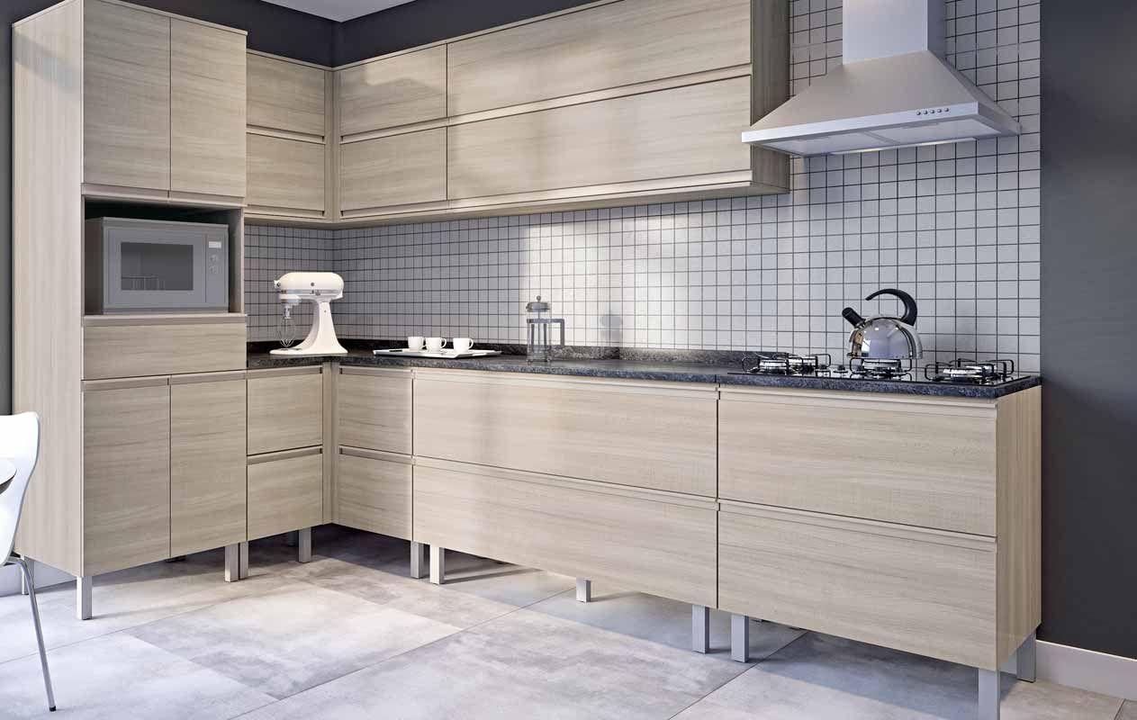 Cozinha Planejada 60 Fotos Pre Os E Projetos Obsigen