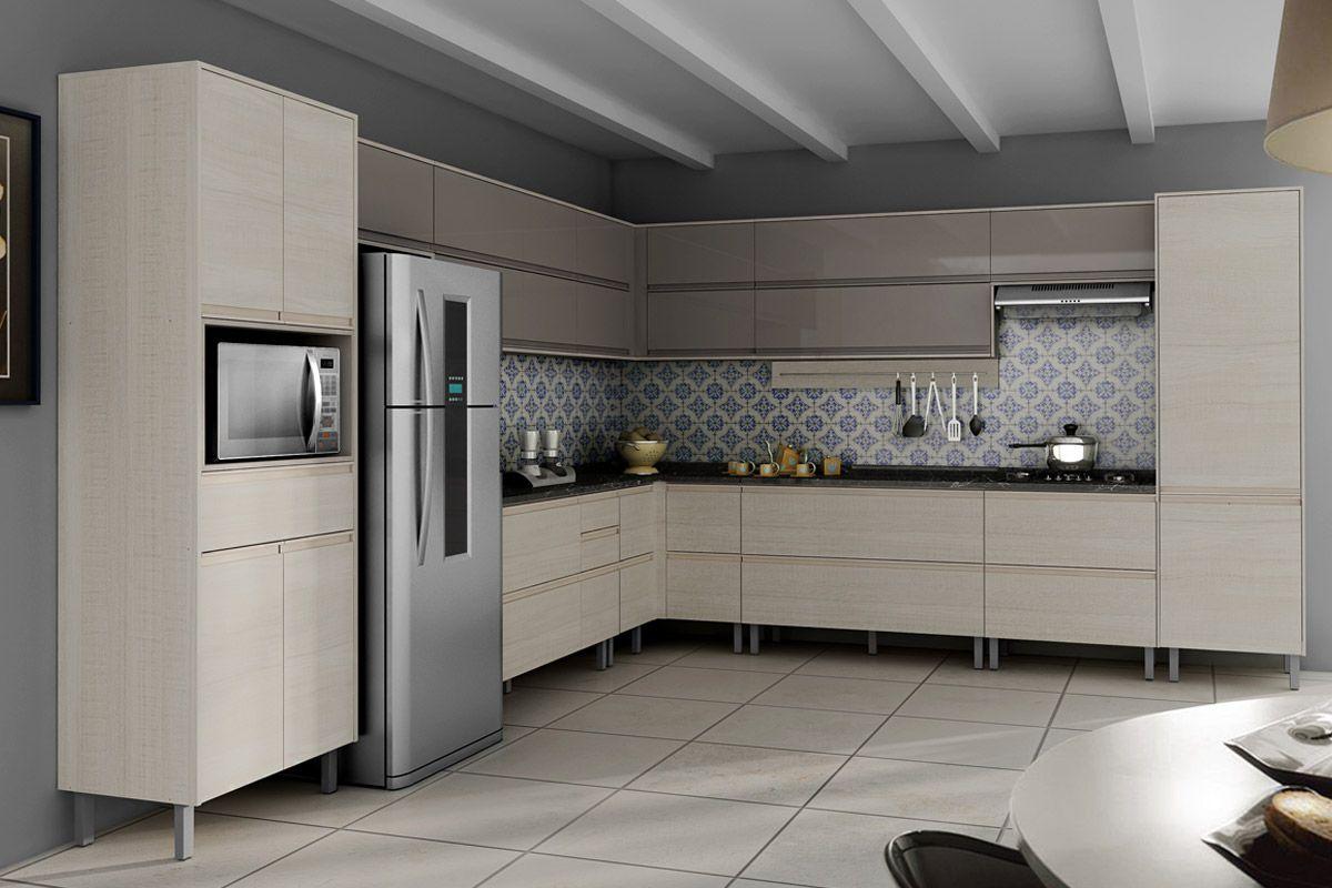 Pintura Em Armario De Cozinha De Aço : Cozinha planejada fotos pre?os e projetos