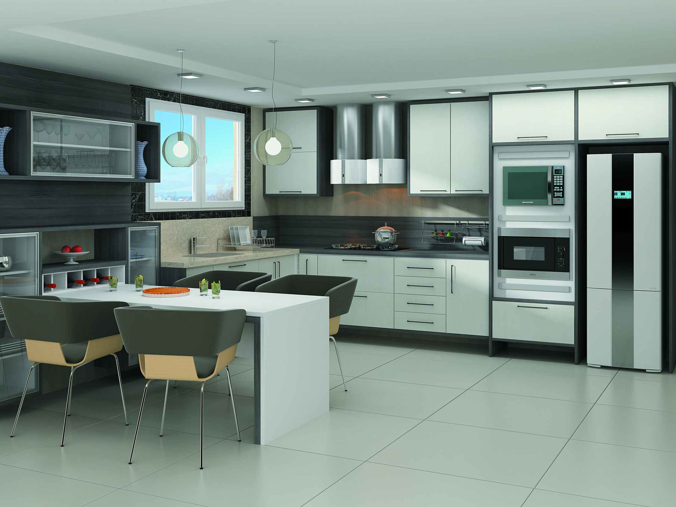Ver Fotos De Armário De Cozinha : Cozinha planejada fotos pre?os e projetos