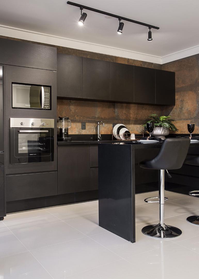 Cozinha Grande Planejada Cozinha Moderna Cozinha Completa